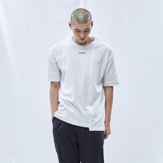 DYCTEAM - Asymmetrical Fifth Tee (White)