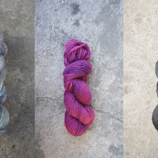 Hand-dyed line custom combination order