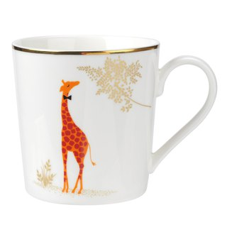 Sara Miller London for Portmeirion Piccadilly Mug - Genteel Giraffe