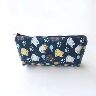 Sell ​​cute kitten pencil case (middle) / storage bag pencil case cosmetic bag