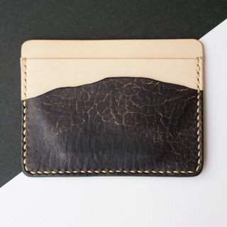 ◄ ► Mountain zero context // card holder - handmade Italian leather Limited