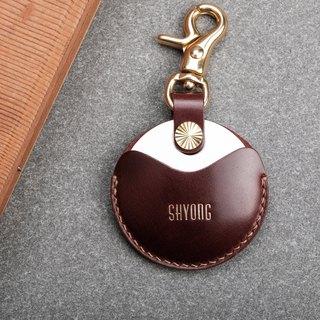 Gogoro/gogoro2 key special leather case key holder / limited new 禧 horse hip wine red