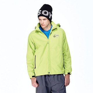 Waterproof single-piece jacket