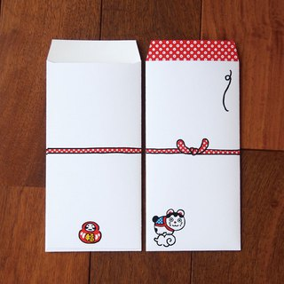 Japanese Gift-Money Envelopes - Fortune Cat -