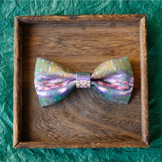 Monet Water Lily Bow Tie, Monet Claude Water Lily