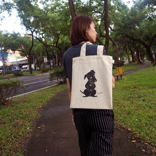 Limited [laughing] halogen beans canvas bag