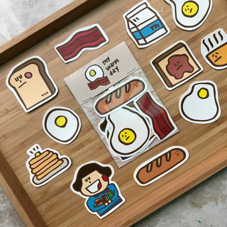 Breakfast 趴/sticker set