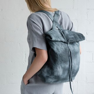Linen Backpack Motumo – 17B3