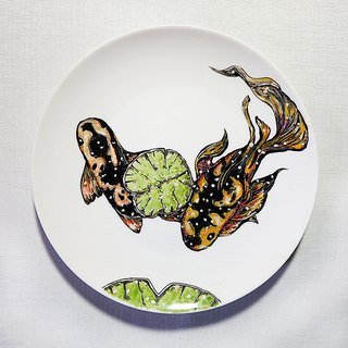 Personalized hand painted porcelain