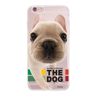 The Dog big dog license - TPU phone shell, AJ07
