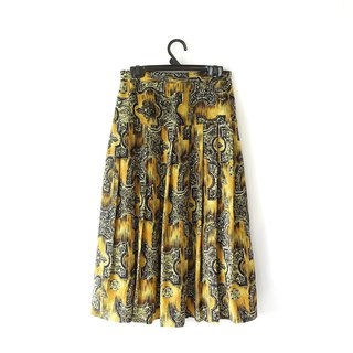 │Slowly│Antiquities-Ancient Skirt│vintage.Retro.Literature