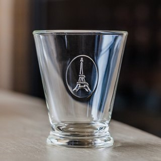 Eiffel Glass Cup