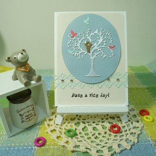 Handmade cards - to have friends come from afar (Universal Card / greeting card)