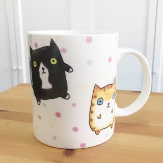 Bone China Mug - Fat House Cat
