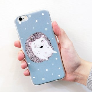 """ Rolling Babe "" My sweetie my hedgehog / phone case"
