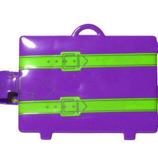 Rollog My suitcase tag(Purple)