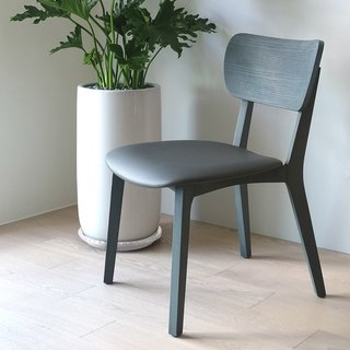 / Viithe / FAMILY HOUR L dinner chair leather version Special Edition - cosmic gray