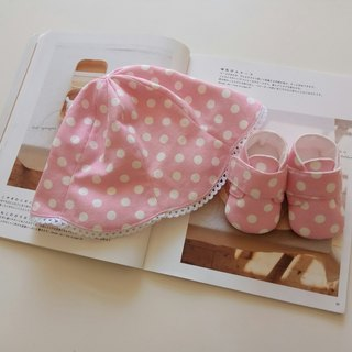 Foundation white gift month baby boots + baby soft hat
