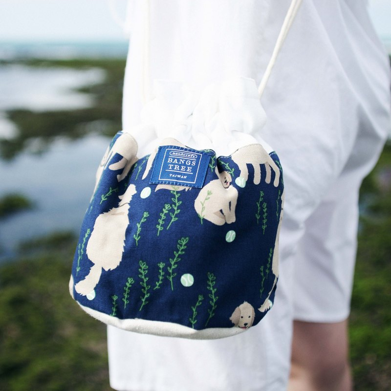 Side of the bucket bag _ dog (in stock)