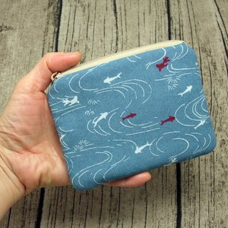 Zipper pouch / coin purse (padded) (ZS-238)