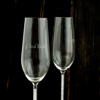 Goody Bag - 周庆限定免运福袋Customized True Love 99 Rhinestone Champagne Cup Engraving Cup