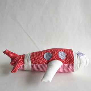 Homycat aeroplane pillow toy