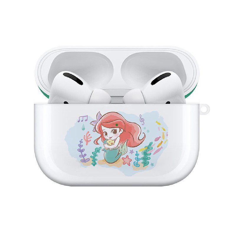 【Hong Man】迪士尼系列Airpods Pro耳機保護套Q版公主 小美人魚