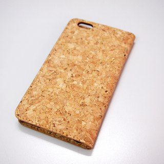Cork iPhone 6S Plus / iPhone 6 Plus Flip case iphone Flip cover iphone case phone case cover card slots card holder