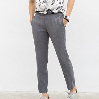 Mocca - Contrasting side trousers