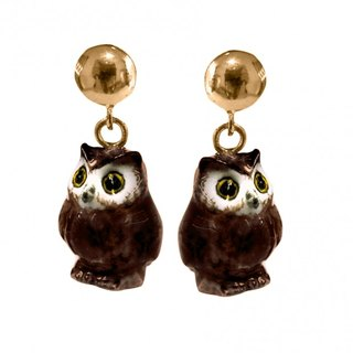 Mini Owls Earrings