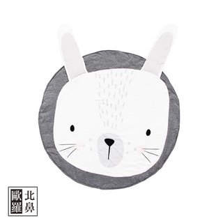Mister Fly Baby Animal Shape Game Pad - Grey Bunny