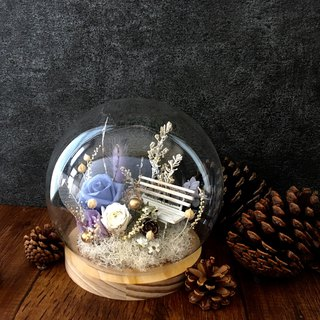 | Winter memories | No flowers. Dry flowers. Christmas. Christmas gifts. Glass ball. Flower garden