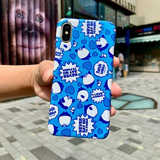 Pandahaluha never say no to panda iPhoneX hard case ARIPHX-OL / PH-63