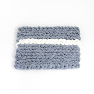 Hand-woven rectangular soup mat / pot mat