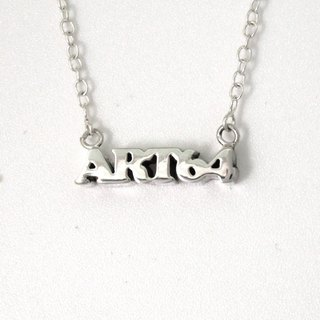 64DESIGN Custom 3D Stack - Name Necklace