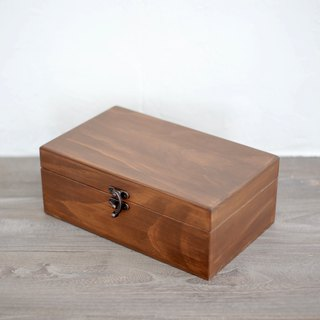 Oak distressed old oil wooden box 15ml pen ink box