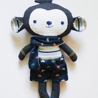 [Clothes memorial puppet] monkey