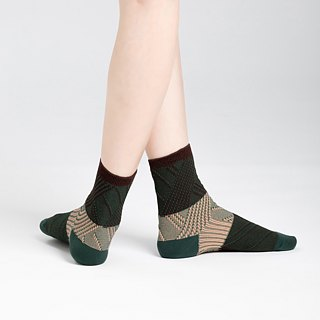 Telegraphy 3/4 socks