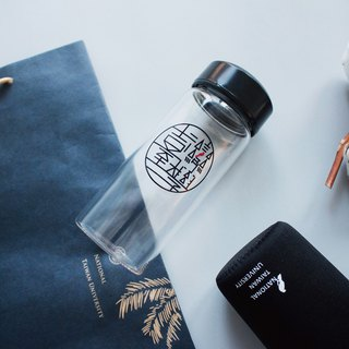 Taiwan University Portable Glass Bottle 400ml