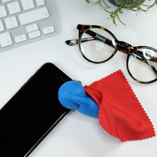 Hero Cloth Pouch Red+Blue/Grey+Black │ cleansing cloth / hang decoration