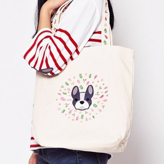French Bulldog One Shoulder Handbag