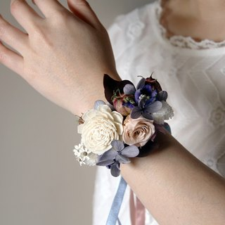 Wedding flower wrist