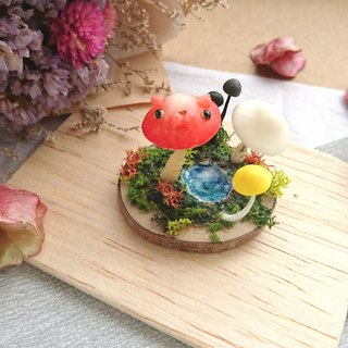◆ cat micro-scene - mushroom cat landscapes