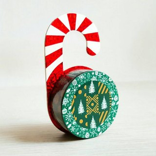 [Hoppy] Christmas paper tape X'mas-G Tree / GTIN: 4713077971802