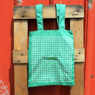 Hoi Fan Bu Tuote wander in the green bag - embroidery baby crocodile