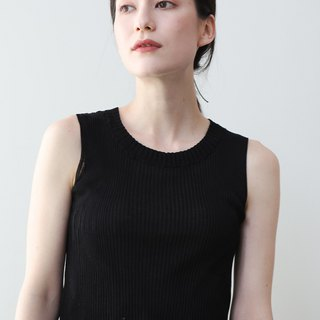 KOOW Island 120 绢 silk soft 糯 skin and cool wild high quality small round neck sleeveless vest