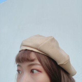 Mink octagonal cap two colors