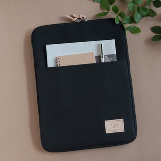 OVERTIME laptop sleeve - Black