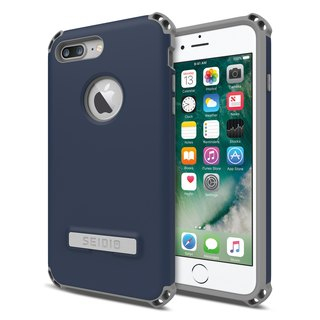 Military-grade four corners crash shell / phone shell for iPhone 7 Plus / 8 Plus-dark blue-DILEX series