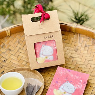 _ Good luck Wangwang tea ceremony _ Hehuanshan hand picking Oolong / original leaf stereo tea bag